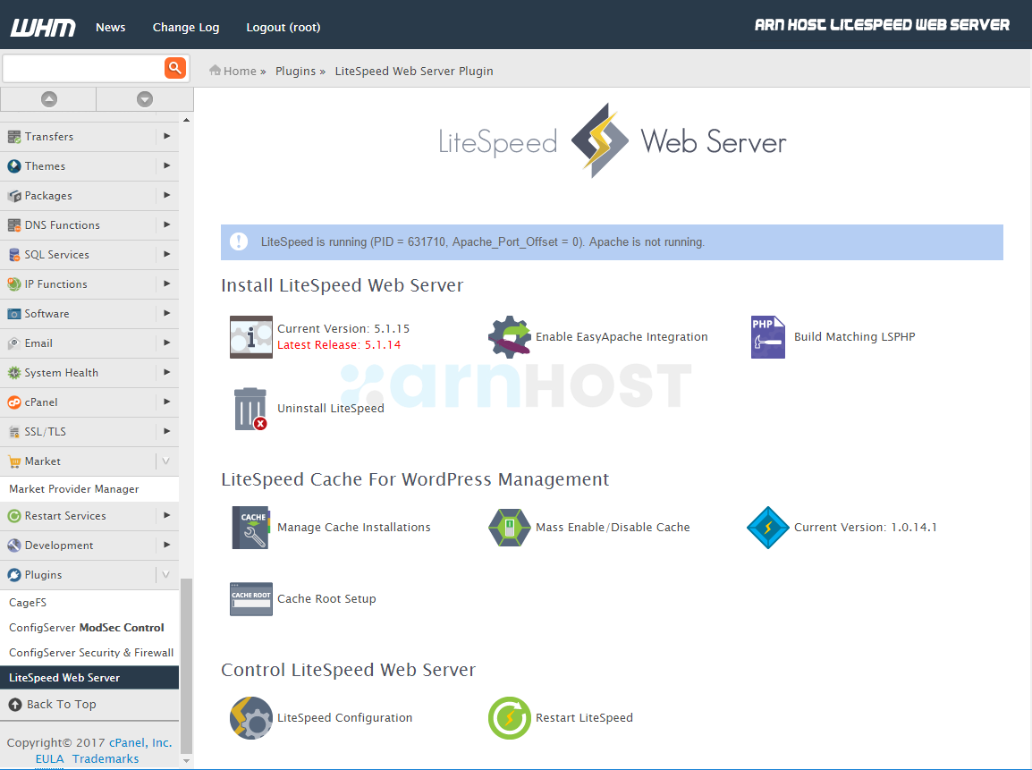 How LiteSpeed web server works on your cPanel hosting