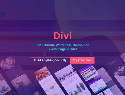 DIVI is The Name of Ultimate WordPress Theme and Visual Page Builder Ever