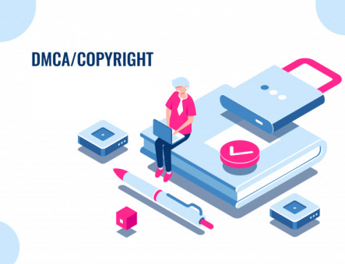 How can you take DMCA copyright notice