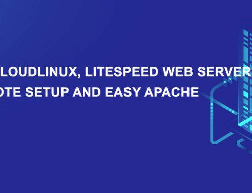 Step by step install cPanel on CloudLinux Litespeed Imunify360 with disk quote setup